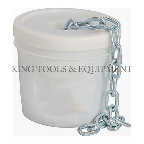 "KING G30 5/16"" x 90' BUCKET OF IRON CHAIN, GALVANIZING"