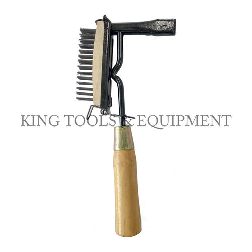 KING CHIPPING HAMMER w/ Wire Brush
