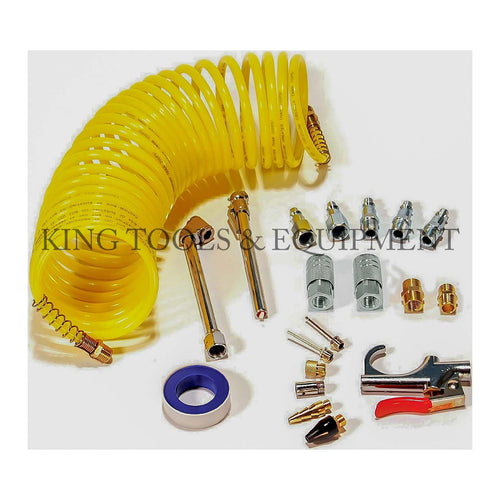 KING 20-pc Complete AIR SERVICE ACCESSORIES KIT