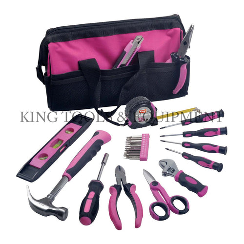 24-pc Complete Assortment LADY'S TOOL KIT w/ Bag - 3111-0