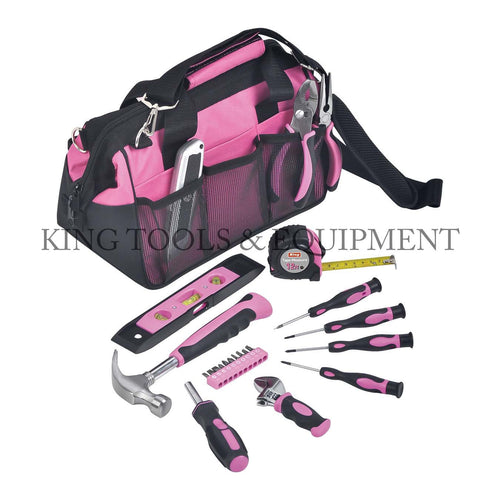 KING 23-pc Complete Assortment LADY'S TOOL KIT w/ Bag