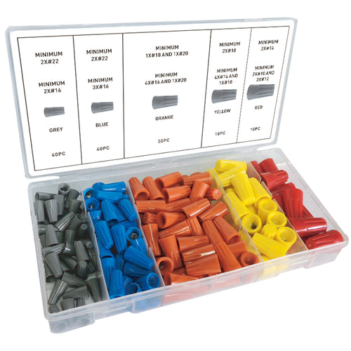 158-PC WIRE CONNECTOR ASSORTMENT (3281-0)