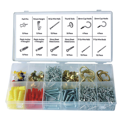 600-PC HOME HARDWARE ASSORTMENT (3282-0)