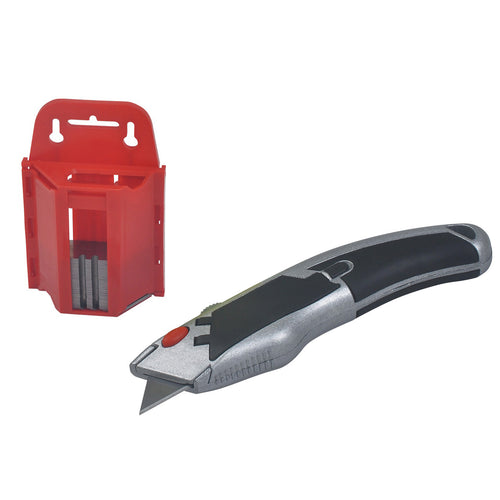 Utility Knife with Blade Holder and 100 Blades - 3572-0