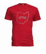 Men's O-Chai-O Short Sleeve T-shirt Heather Red/Slate