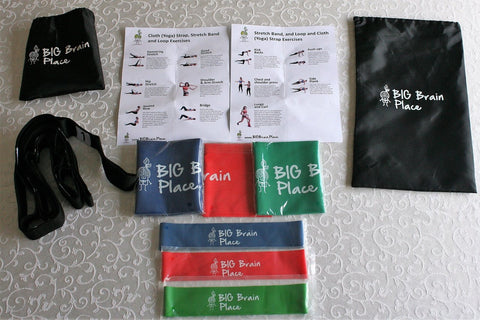 Travel-friendly-exercise-kit-with-stretch-bands