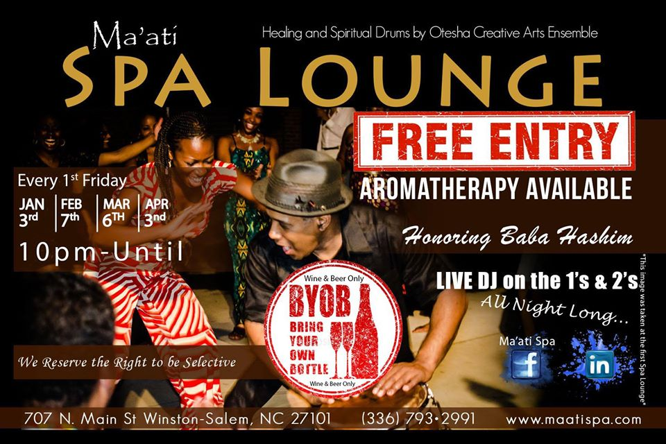 Spa Lounge - First Friday's at Ma'ati Spa