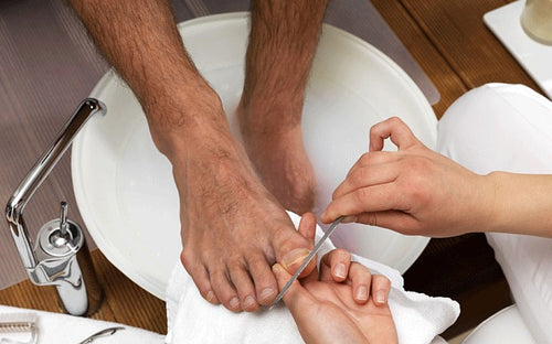 Pedicure - For The Active Kings- (45 mins.)
