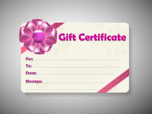 40% OFF Mother's Day - Spa Gift Certificates!