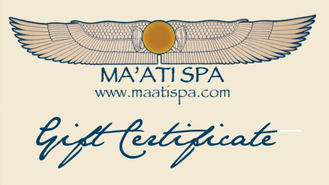 30% OFF - Spa Gift Certificates!!