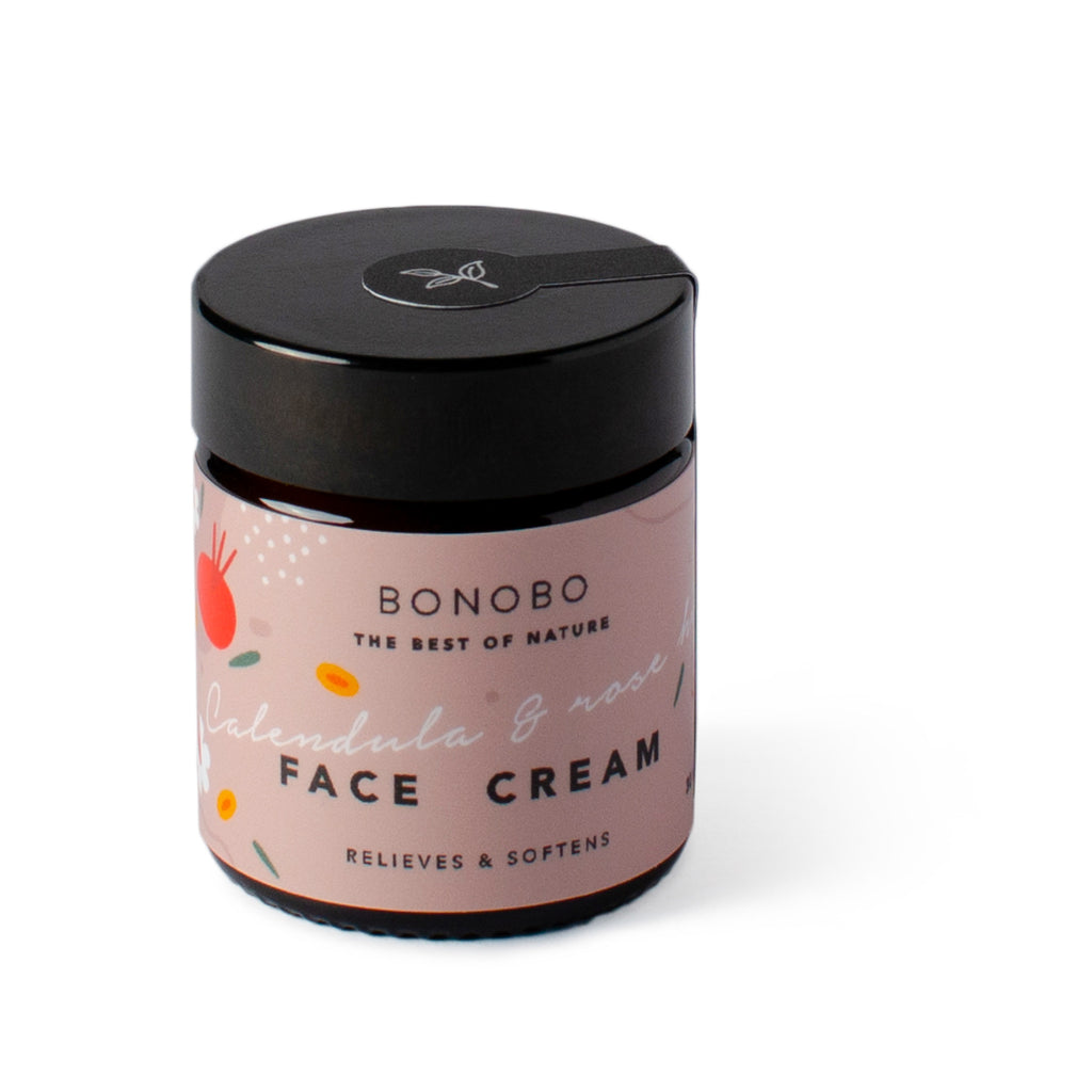 BONOBO Calendula & Rose hip Face Cream relieves & softens 30 ml