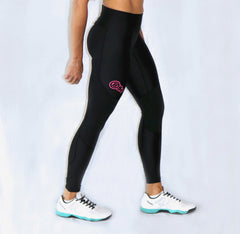 Compression Tights w/Pink Logo