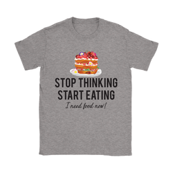 Stop thinking Start eating