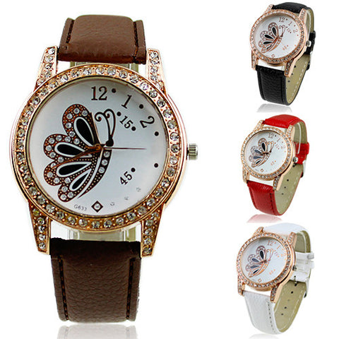 Retro Butterfly Wrist Watch