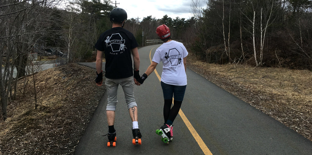 Balancing Love and Roller Derby