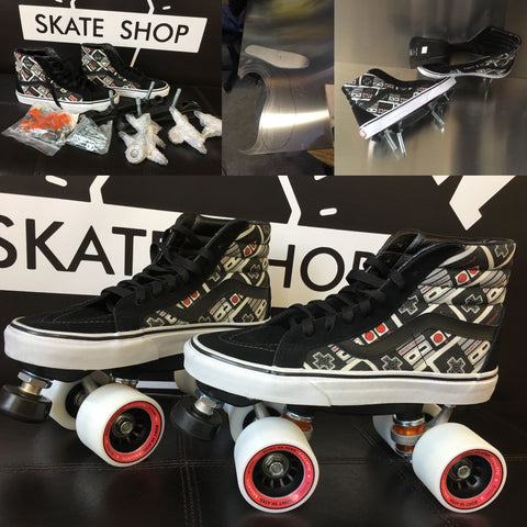 Custom Roller Skate Set Up