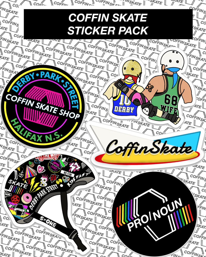 Coffin Skate Sticker Pack