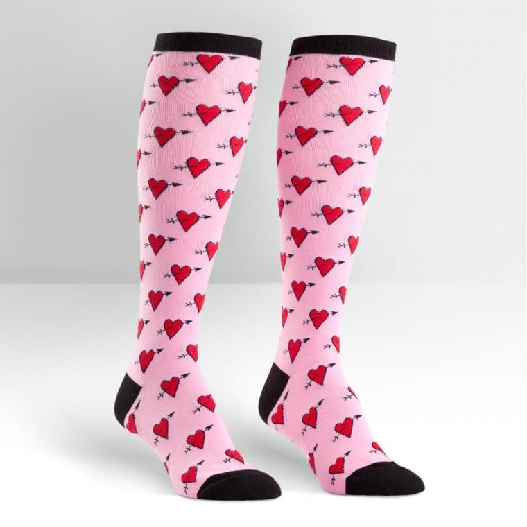 HEARTS KNEE HIGH SOCK