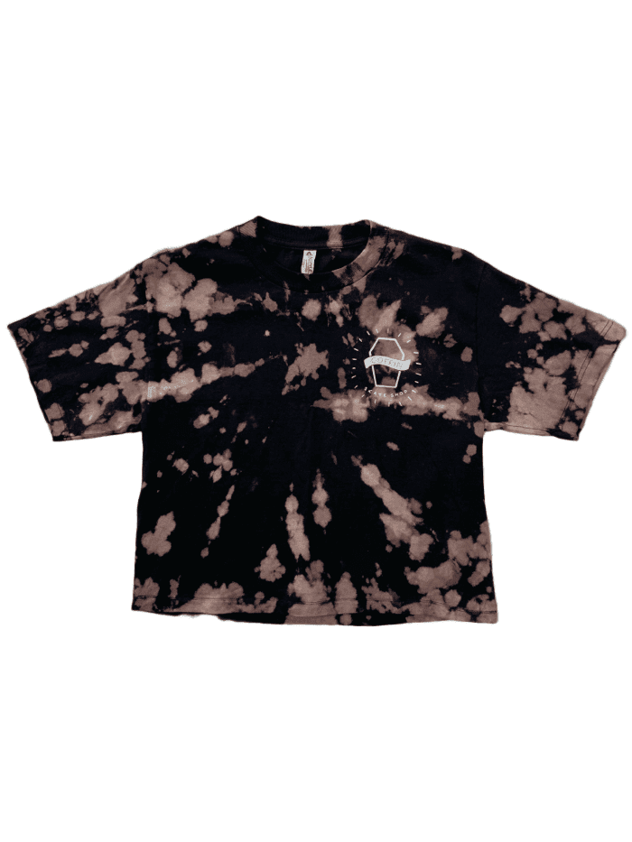 Coffin Skate Reverse Dye Crop Top