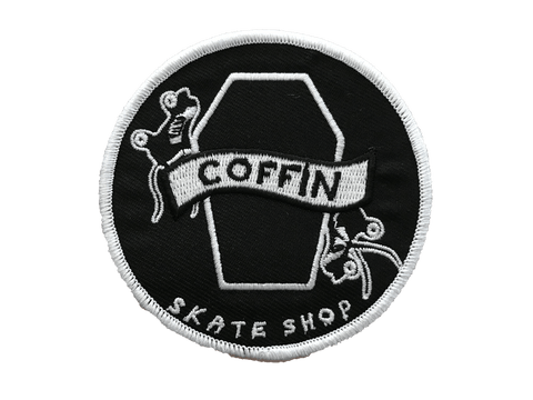 Coffin Skate Embroidered Patch