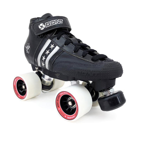 BONT Regular Cut Quadstar Roller Skate Set - Balistic Wheels