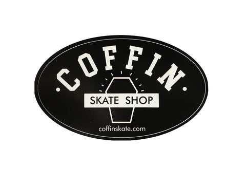 Coffin Skate Shop Bumper Sticker