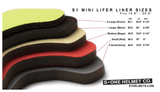 S1 Lifer Helmet Sizing Liners