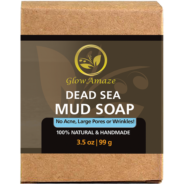 Pure Dead Sea Mud Soap - GlowAmaze