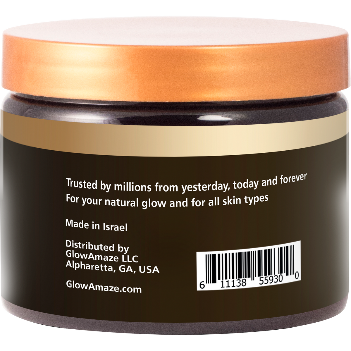 Dead Sea Mud Mask - GlowAmaze