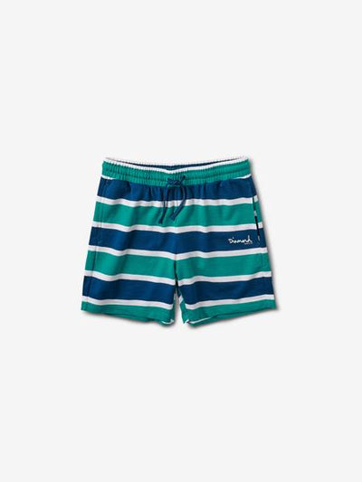 MINI OG SCRIPT STRIPED SHORTS