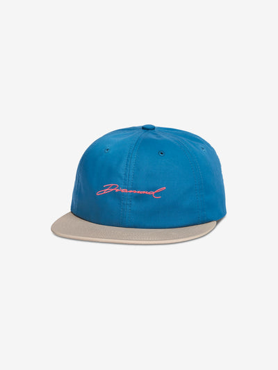 PARADISE SCRIPT UNSTRUCTURED 6 PANEL STRAPBACK SUMMER 18