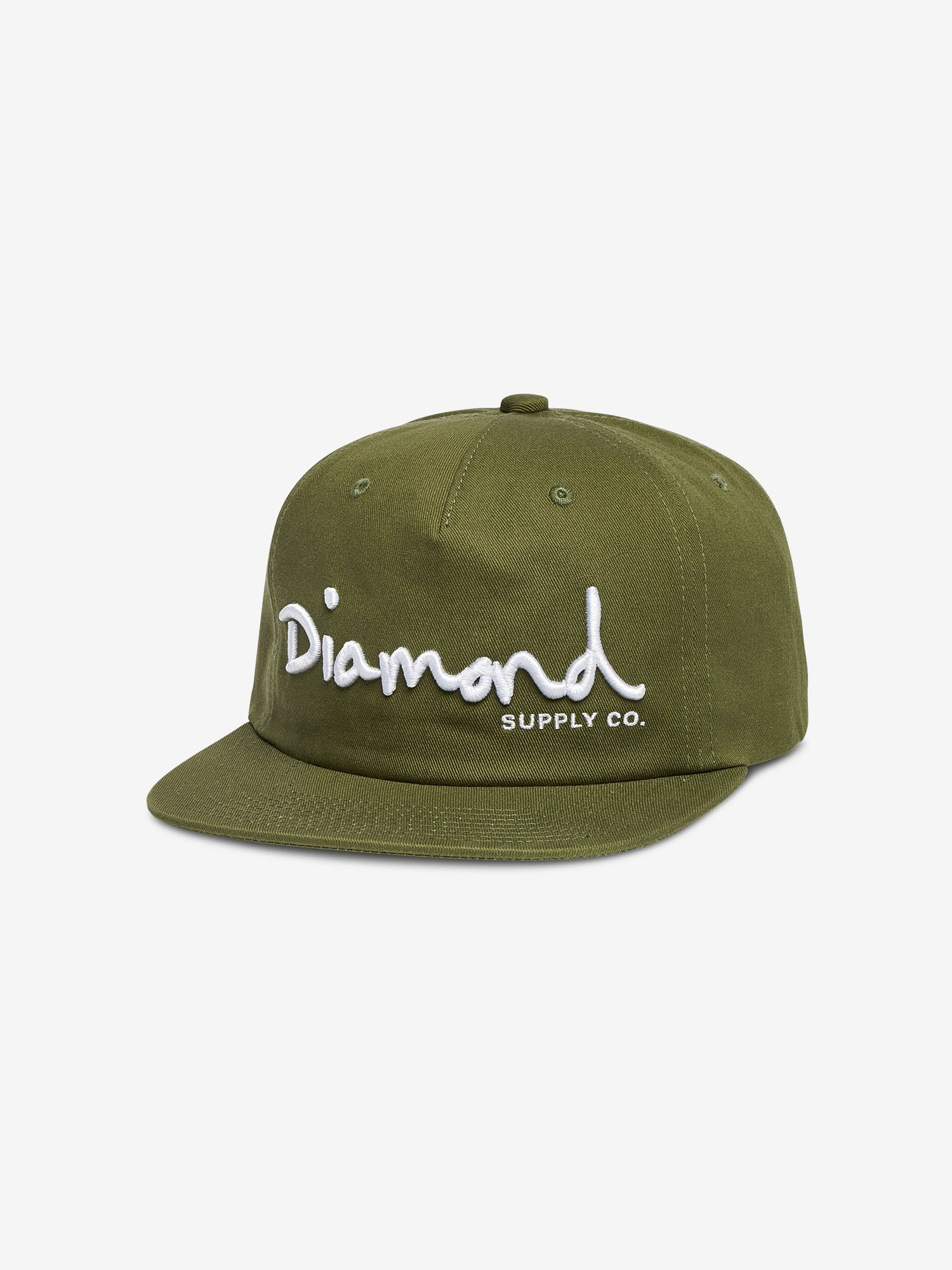 d43c81611d8 Diamond Supply Co. OG SCRIPT UNSTRUCTURED SNAPBACK FALL 2018
