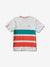 BRILLIANT PATCH STRIPED TEE