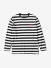 DIAMOND STRIPED LONGSLEEVE T-SHIRT