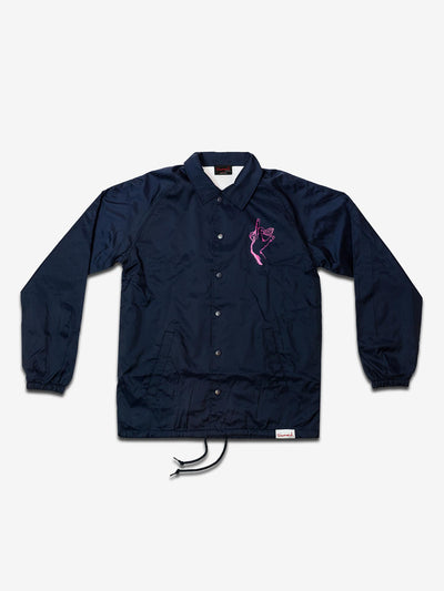 SIGN LANGUAGE COACHES JACKET