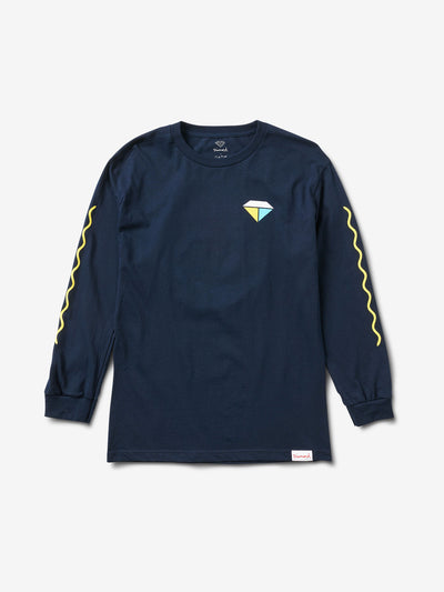 BOLTS AND BOATS LONG SLEEVE T-SHIRT