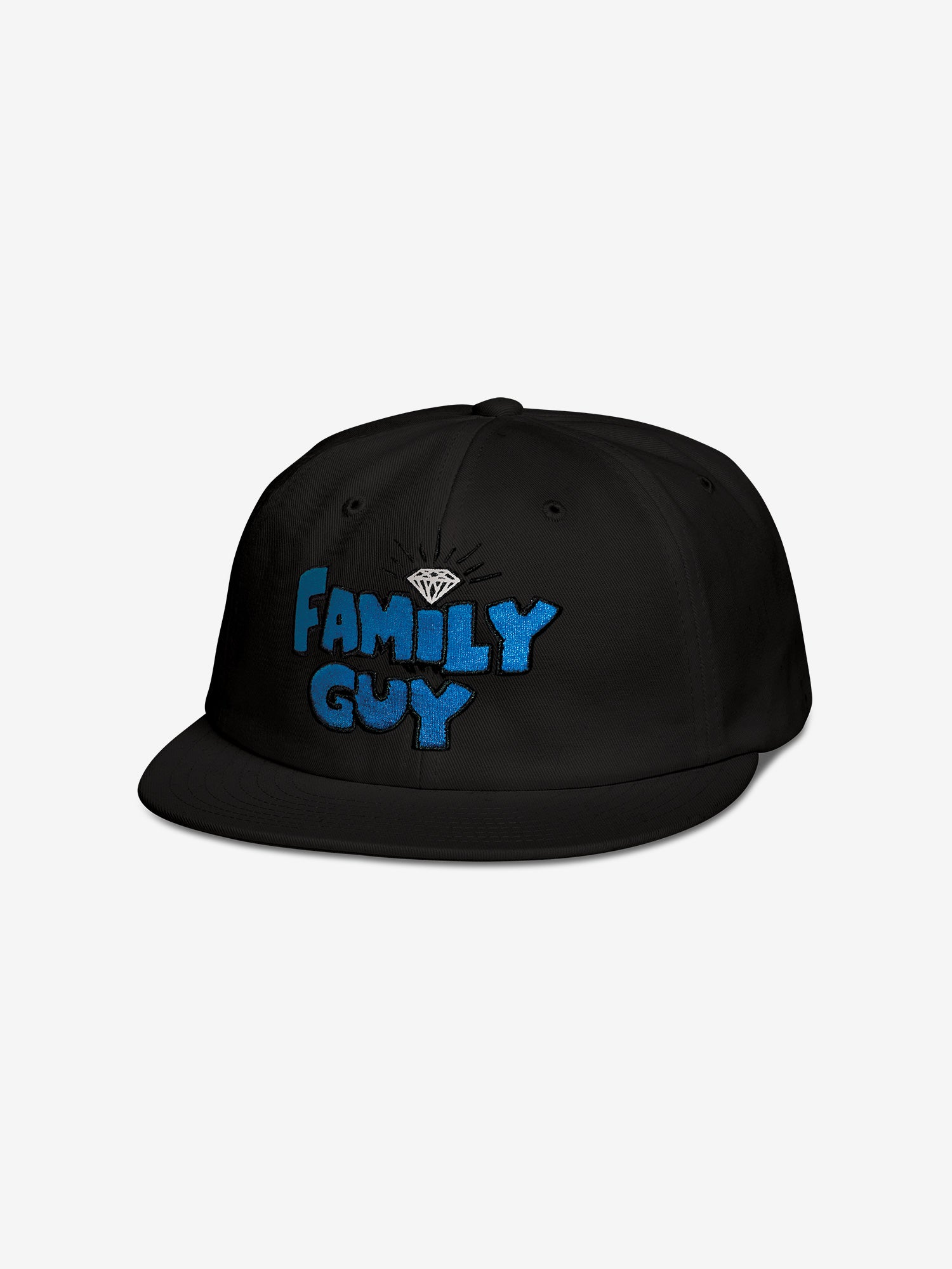 8149b52be33b8 Diamond Supply Co. FAMILY GUY UNSTRUCTURED SNAPBACK