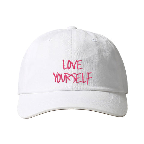 Love Yourself White Hat