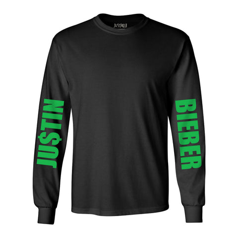 JB Money Black Long Sleeve T-shirt