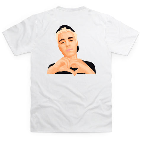Love Yourself White T-shirt