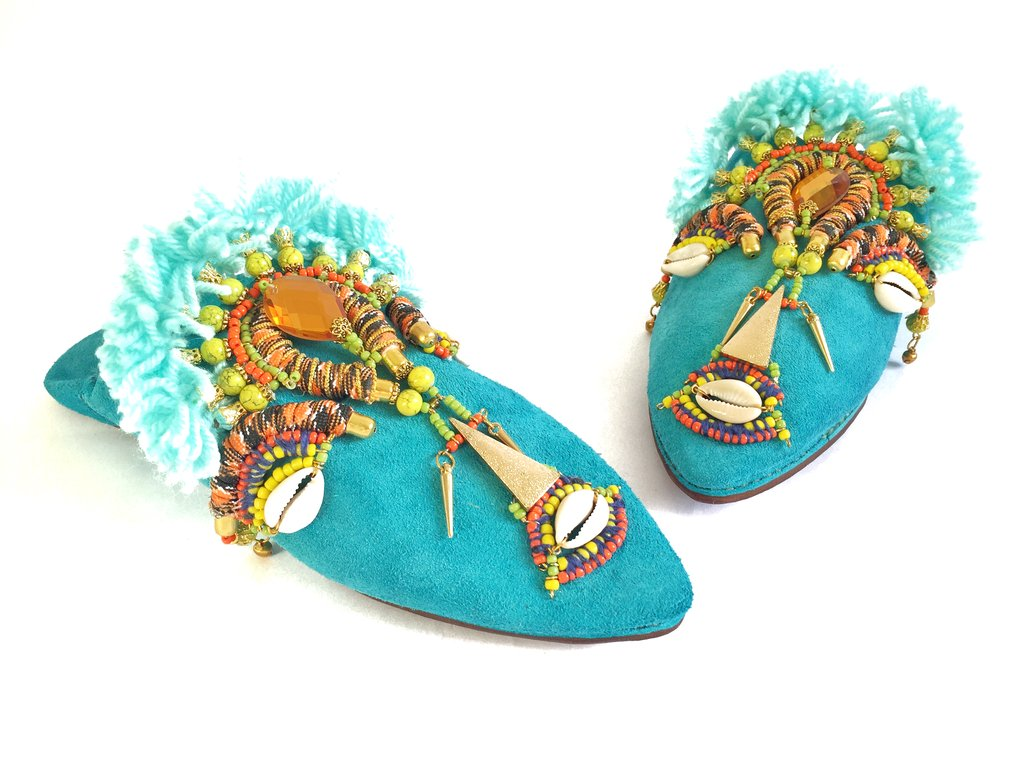 KEELY EMBELLISHED SLIPPERS