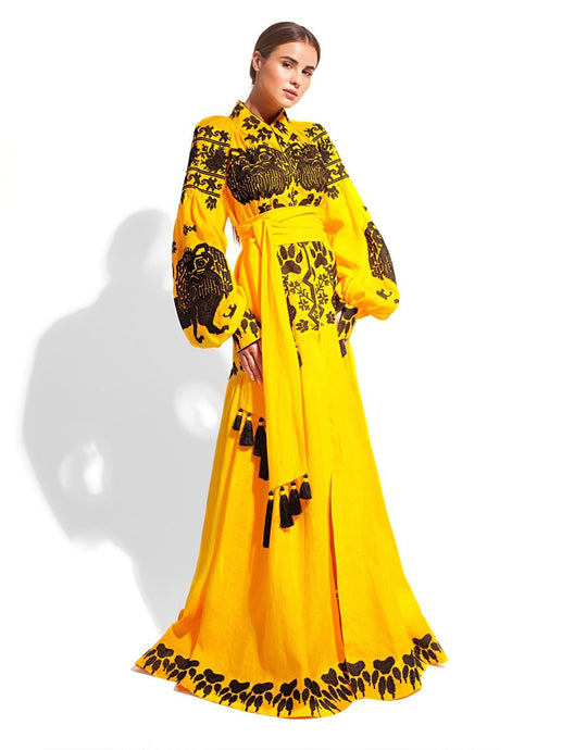 Caftan Dress 'KINF OF BEATS'