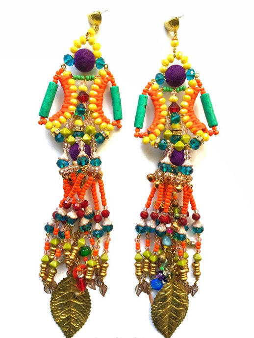 RHEA BEADED EARRINGS