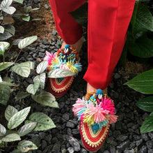 THEONA EMBELLISHED SLIPPERS