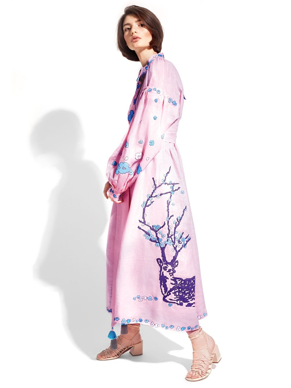 Caftan Dress 'DEERS'