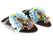 GIULIA EMBELLISHED SLIPPERS