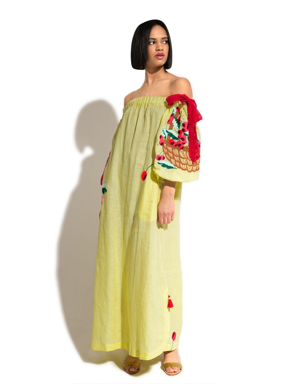 Caftan Dress 'CHERRY DRESS'