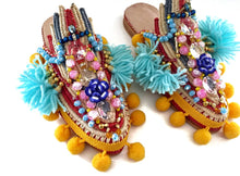 SASIKA EMBELLISHED SLIPPERS