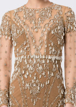 PEARL EMBROIDERED GOWN