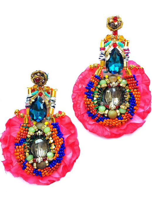 CAROLA BEADED EARRINGS